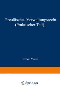 Cover Preuisches Verwaltungsrecht (Praktischer Teil)