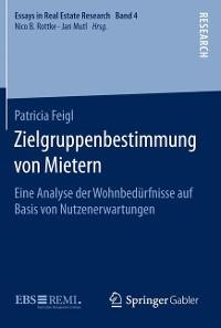 Cover Zielgruppenbestimmung von Mietern