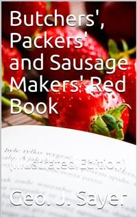 Cover Butchers', Packers' and Sausage Makers' Red Book