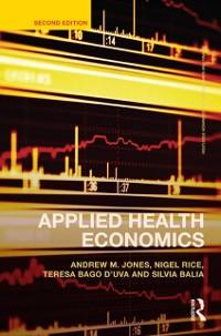 Cover Applied Health Economics