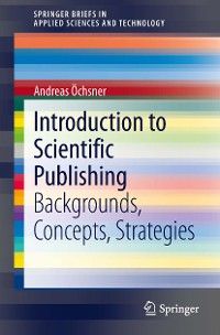 Cover Introduction to Scientific Publishing