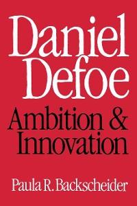 Cover Daniel Defoe
