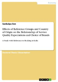 Cover Effects of Reference Groups and Country of Origin on the Relationship of Service Quality Expectations and Choice of Brands
