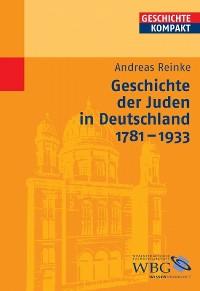 Cover Geschichte der Juden in Deutschland 1781-1933