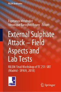 Cover External Sulphate Attack – Field Aspects and Lab Tests