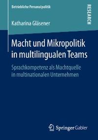 Cover Macht und Mikropolitik in multilingualen Teams