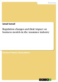Cover Regulation changes and their impact on business models in the insurance industry