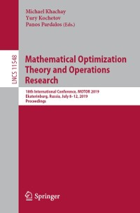 Cover Mathematical Optimization Theory and Operations Research