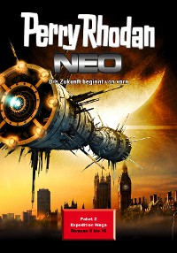 Cover Perry Rhodan Neo Paket 2: Expedition Wega