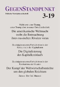 Cover GegenStandpunkt 3-19
