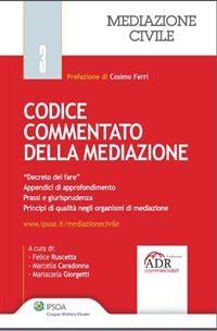 Cover Codice commentato della mediazione