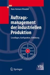 Cover Auftragsmanagement der industriellen Produktion