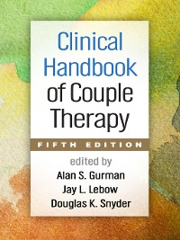 Cover Clinical Handbook of Couple Therapy