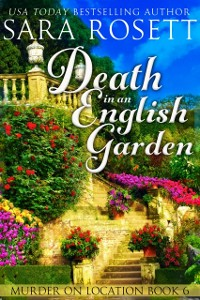 Cover Death in an English Garden