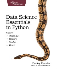 Cover Data Science Essentials in Python