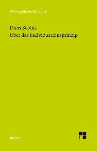 Cover Über das Individuationsprinzip
