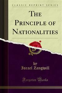 Cover The Principle of Nationalities