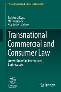 Cover Transnational Commercial and Consumer Law