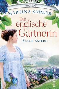 Cover Die englische Gärtnerin – Blaue Astern
