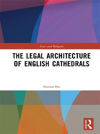 Cover Legal Architecture of English Cathedrals
