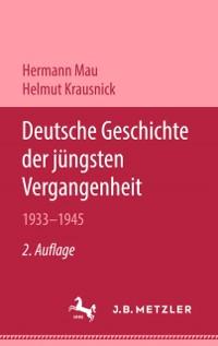 Cover Deutsche Geschichte der jungsten Vergangenheit 1933-1945