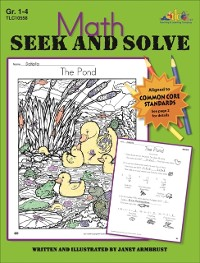 Cover Math Seek and Solve