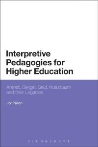 Cover Interpretive Pedagogies for Higher Education
