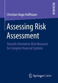 Cover Assessing Risk Assessment