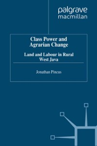 Cover Class, Power and Agrarian Change