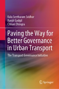 Cover Paving the Way for Better Governance in Urban Transport