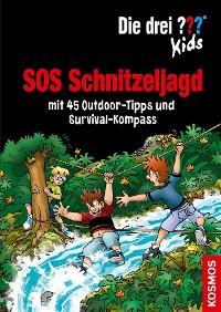 Cover Die drei ??? Kids, SOS Schnitzeljagd (drei Fragezeichen Kids)