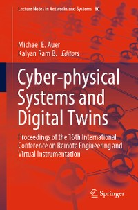 Cover Cyber-physical Systems and Digital Twins