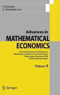 Cover Advances in Mathematical Economics Volume 8