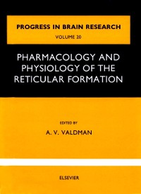 Cover Pharmacology and physiology of thereticular Formation