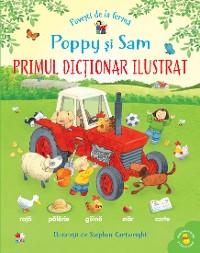 Cover Poppy Si Sam. Primul Dictionar Ilustrat