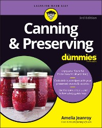 Cover Canning & Preserving For Dummies