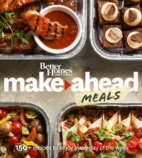 Cover Better Homes and Gardens Make-Ahead Meals