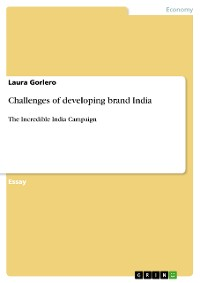 Cover Challenges of developing brand India