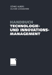 Cover Handbuch Technologie- und Innovationsmanagement