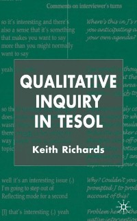 Cover Qualitative Inquiry in TESOL