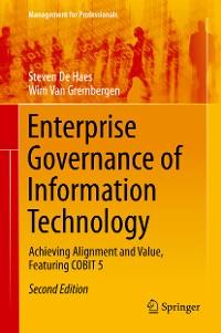 Cover Enterprise Governance of Information Technology
