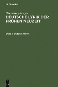 Cover Barock-Mystik