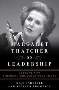 Cover Margaret Thatcher on Leadership