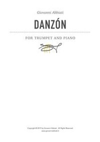 Cover Danzón for Trumpet and Piano
