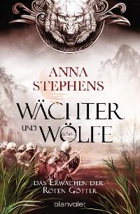 Cover Wächter und Wölfe - Das Erwachen der Roten Götter