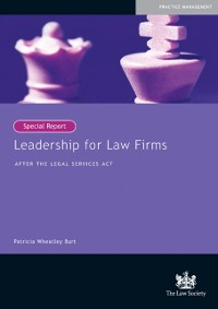 Cover Leadership for Law Firms
