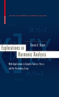 Cover Explorations in Harmonic Analysis