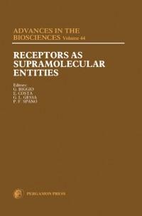 Cover Receptors as Supramolecular Entities