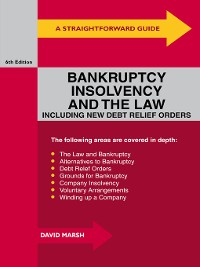 Cover A Straightforward Guide to Bankruptcy, Insolvency and the Law