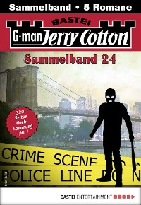 Cover Jerry Cotton Sammelband 24 - Krimi-Serie